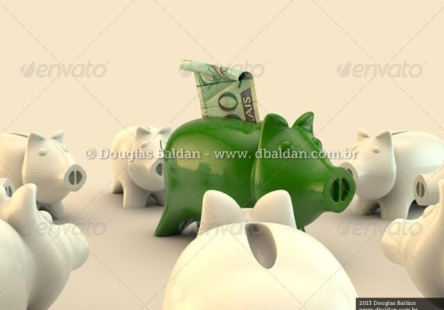Cofre de Porco – 100 reais