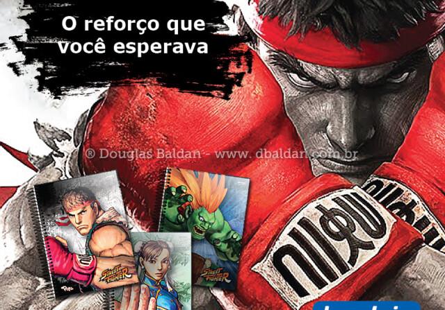 Lançamento linha Street Fighter – Jandaia