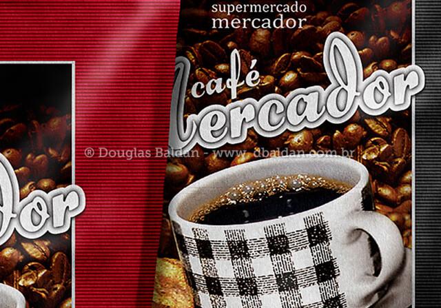 Embalagem Café Mercador