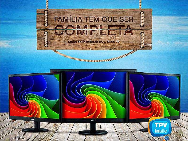 """Campanha """"Família tem que ser completa"""" TPV Insite"""